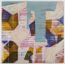 Cityscape 1, 2011.  180 cms X 180cms