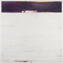 Large Landscape Painting 1, 2013.  185cms X 185cms