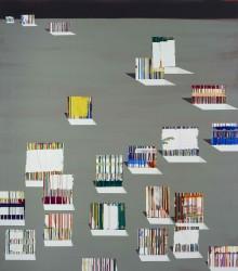Painting 6:14, 2014   180cms X 160cms