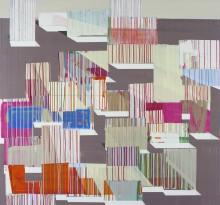 Painting 7:14, 2014  150cms X 160cms