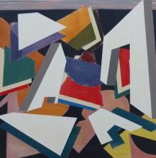 Painting 7, 2016 80cms X 80cms s